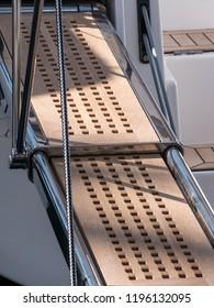 Motor Boat gangway