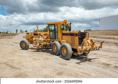 Motor Grader Civil Construction