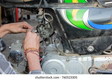 Motor mechanic, poor labour