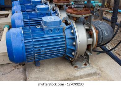 motor pump water electric