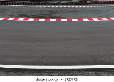 Motor race asphalt