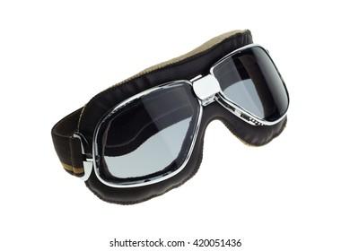 Motorbike classic goggles