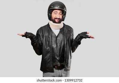 motorbike rider accdicent victim