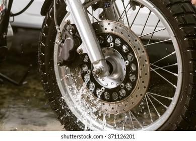 Motorbike washing series