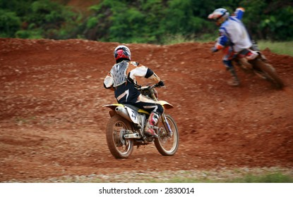 motor-cross riders