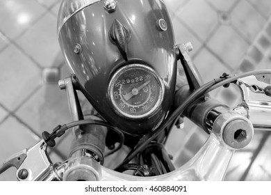 MOTORCYCLE, BANGKOK, THAILAND, - JULY 19: Ducati parked in the garage on Tuesday 19, 2016