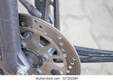 motorcycle brake disc