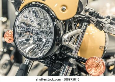 motorcycle headlights, direction indicator