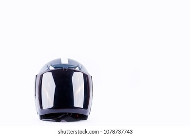 motorcycle Helmet is a device to reduce the severity of accidents  on white background helmet safety object isolated
