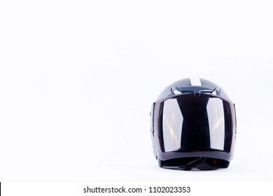 motorcycle helmet on white background helmet safety object isolated