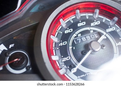motorcycle mileage (dashboard , mileage).