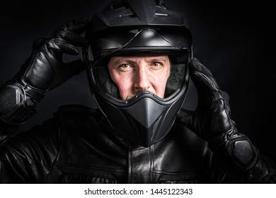 Motorcycle safety equipment with helmet