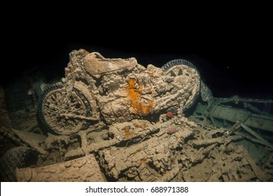Motorcycle from SS Thistlegorm