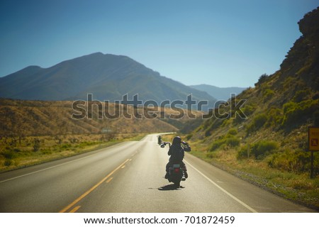 Motorcycles Through The Valley