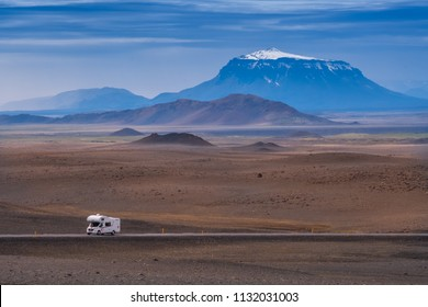 Motorhome in Iceland