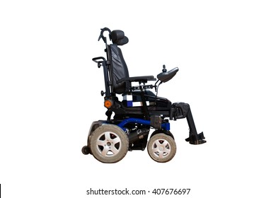 motorised wheelchair for disposable people