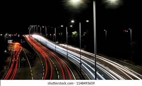 Motorway A406 UK