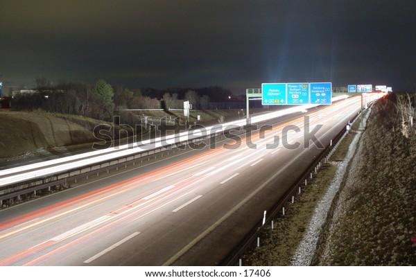 Motorway travelin Europe