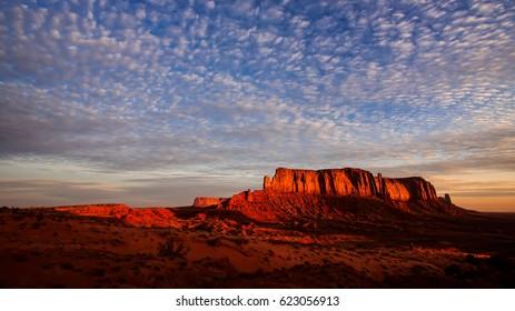 Mottled Sky over Elephant Rock