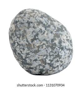 Mottled Stone Isolated on White