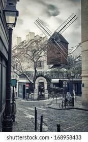 Moulin de la Galette in Montmartre (Paris, France)