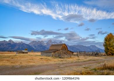 Moulton Barn at Mormon Row