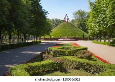 mound of glory in Gomel, Belarus