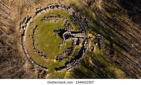 The mound necropolis in Mishkova niva locality in Strandja mountain