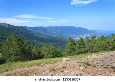 Mount Ai-Petri \ Mount Ai-Petri picture made in summer Crimea