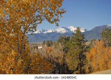 Mount Antero in Autumn, Sawatch Range, Rocky Mountains, Colorado, USA