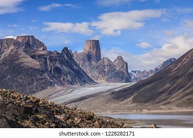 Mount Asgard, Akshayuk Pass, Auyuituq National Park, Nunavut