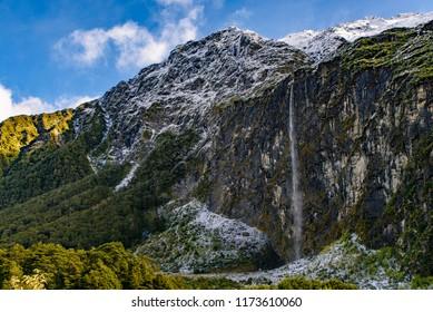Mount Aspiring National Park, South Island, New Zealand