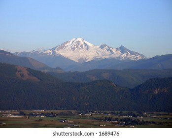 Mount Baker on a clear summer day