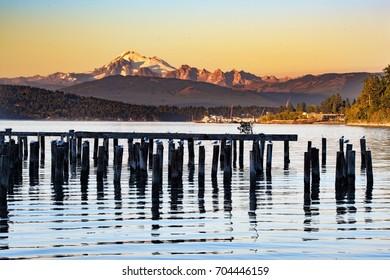Mount Baker Sunset