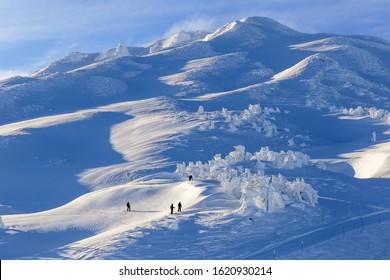 Mount Batchelor ski area in Bend, Oregon