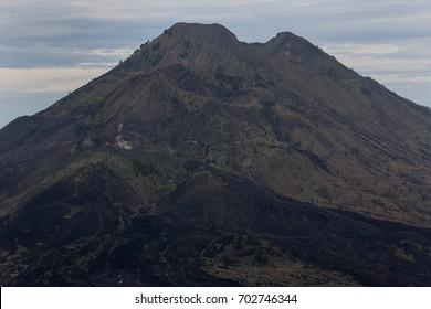 Mount batur is one of Balis active volcanoes
