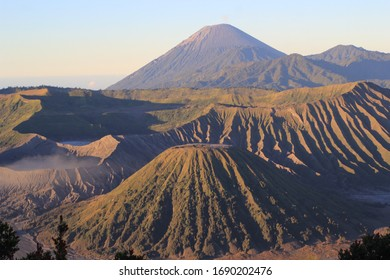 Mount Bromo, A Spectacular Indonesia Mountain. At 2,392 meters tall, Mt Bromo is not among the tallest of Indonesia's mountains but its stunning beauty lies in its incredible setting.