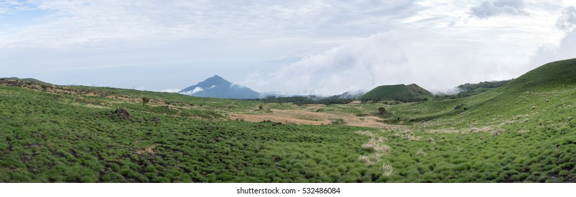 Mount Cameroon national park landscape.
