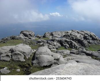 Mount Champaqui in the Sierras of Cordoba, Argentina