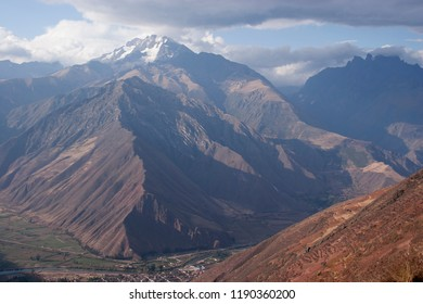 Mount Chicon is a mountain in the Urubamba mountain range in the Andes of Peru. It is located in the Cusco Region, Calca Province, Calca District and in the Urubamba Province, Urubamba District.