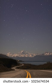 Mount Cook at Night
