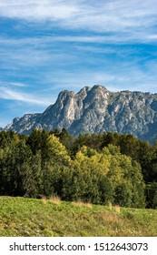 Mount Cornon (2189 m), peak in the Italian Alps, Val di Fiemme and Val di Stava, Cavalese, Trentino Alto Adige, Italy, Europe