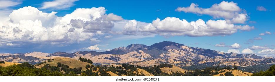 Mount Diablo Panorama