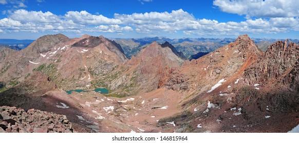 Mount Eolus Group, Needle Mountains, Colorado Rockies
