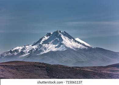 Mount Erciyes Kayseri, Turkey.