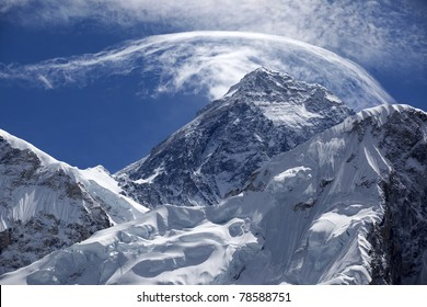 Mount. Everest, 8850m highest mountain.