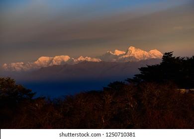 Mount Everest from Sandakphu
