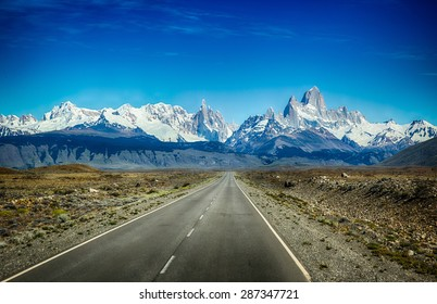 Mount Fitz Roy, also known as Cerro Chalten, is a mountain located in El Chalten on the southern tip of Argentina, bordering with Chile
