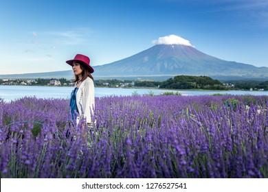 Mount fuji at Lake kawaguchiko.