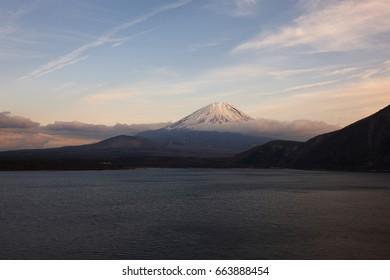 Mount Fuji, Lake Motosu